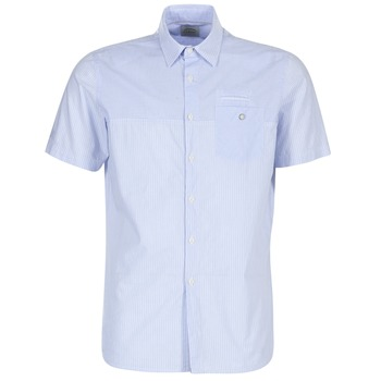 material Men short-sleeved shirts Oxbow K1CAMINO Blue / Sky