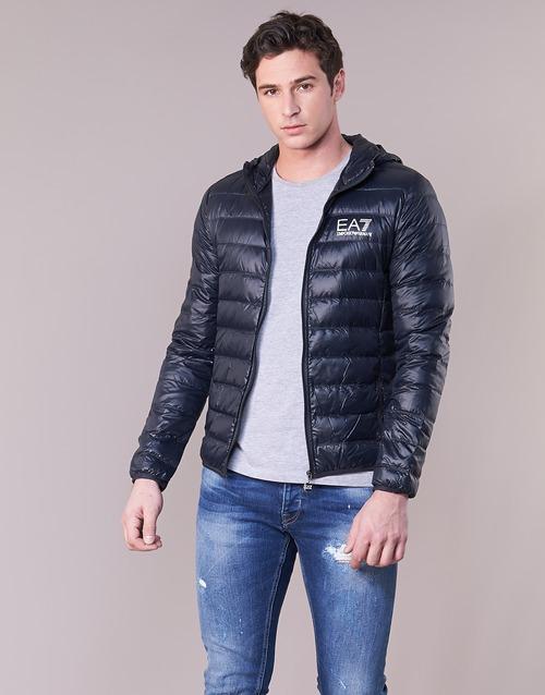material Men Duffel coats Emporio Armani EA7 CORE ID 8NPB02 Marine