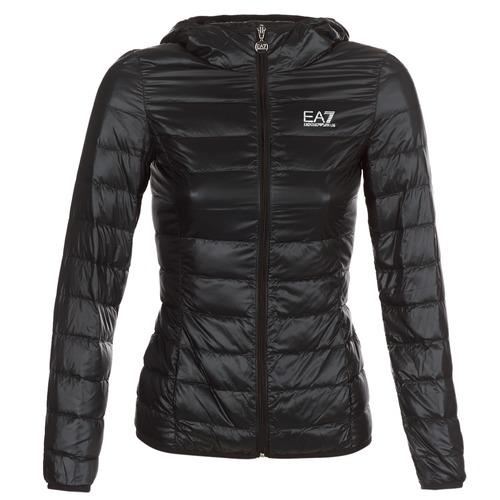 material Women Duffel coats Emporio Armani EA7 TRAIN CORE LADY Black
