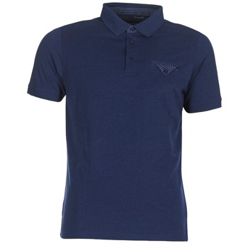 material Men short-sleeved polo shirts Casual Attitude ITATATO Blue