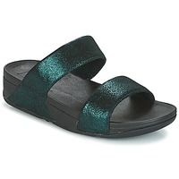 Shoes Women Mules FitFlop SLIDE Green