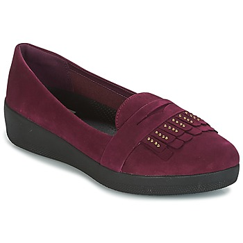 Shoes Women Ballerinas FitFlop LOAFER Violet