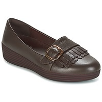 Shoes Women Loafers FitFlop LOAFER/MOC Chocolate / Brown