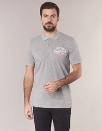 material Men short-sleeved polo shirts Jack & Jones JORTRAST Grey