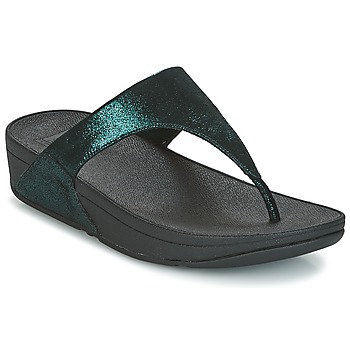 Shoes Women Flip flops FitFlop SHIMMY SUEDE TOE-POST Green