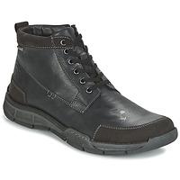 Shoes Men High top trainers Josef Seibel PHIL 03 Black