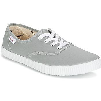 Shoes Low top trainers Victoria INGLESA LONA Grey
