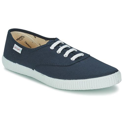 Shoes Low top trainers Victoria INGLESA LONA Marine