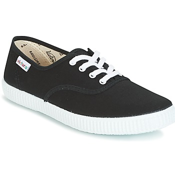 Shoes Low top trainers Victoria INGLESA LONA Black