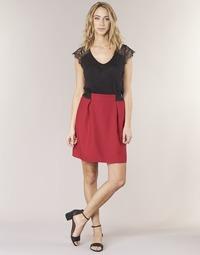 material Women Skirts Naf Naf KATIA Red