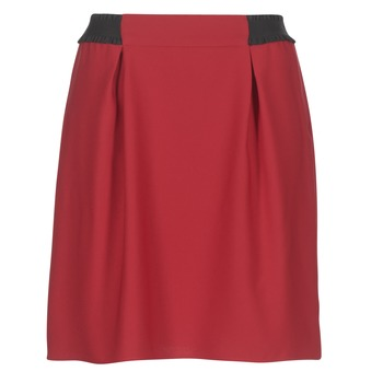 material Women Skirts Naf Naf KATIA Red