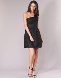 material Women Short Dresses Naf Naf ECLAIR Black