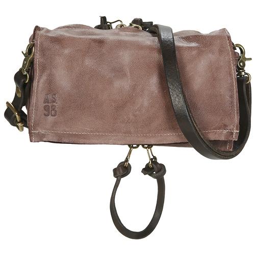 Bags Women Shoulder bags Airstep / A.S.98 LARA Brown