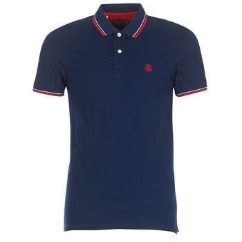 material Men short-sleeved polo shirts Selected SLHNEWSEASON Marine