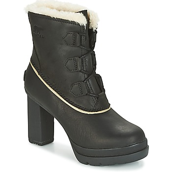 Shoes Women Ankle boots Sorel Dacie Lace Black