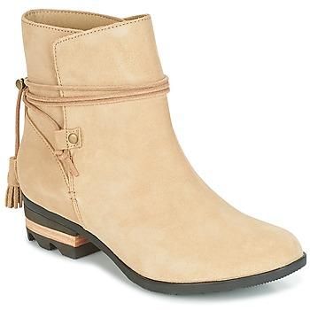 Shoes Women Mid boots Sorel Farah Short Beige