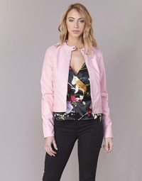 material Women Leather jackets / Imitation leather Vero Moda VMALICE Pink