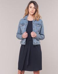 material Women Denim jackets Vero Moda VMHOT SOYA Blue / Clear