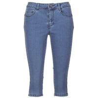 material Women cropped trousers Vero Moda VMHOT SEVEN Blue / Medium