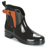 Shoes Women Wellington boots Tommy Hilfiger OXLEY Black