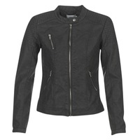 material Women Leather jackets / Imitation leather Only STEADY Black