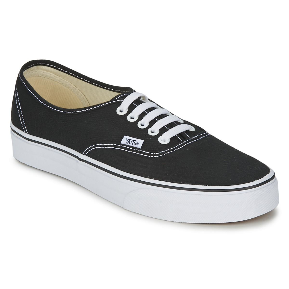 Vans AUTHENTIC Black - Fast delivery with Spartoo Europe ! - Shoes ...