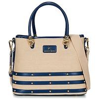 Bags Women Shoulder bags Ted Lapidus SANTORINI Beige / Marine