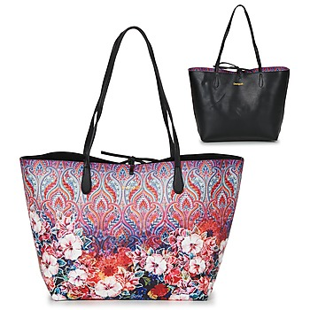 Bags Women Shopper bags Desigual BOLS_CAPRI FREYA Pink / Multicoloured