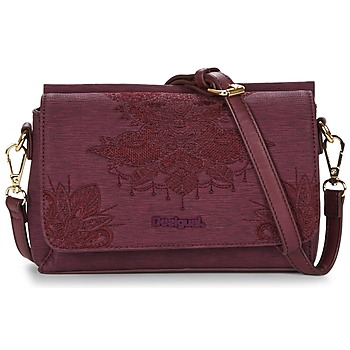 Bags Women Shoulder bags Desigual BOLS_DALLAS SOFT MENDHI Bordeaux