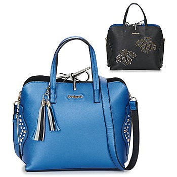 Bags Women Handbags Desigual BOLS_HAMAR TRICOLOR Blue / Black