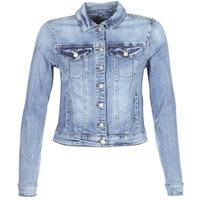 material Women Denim jackets Vila VISHOW Blue / Medium