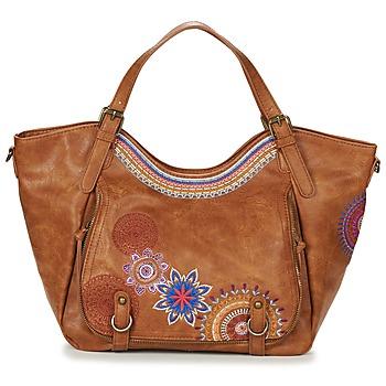 Bags Women Shoulder bags Desigual BOLS_ROTTERDAM AMBER Camel