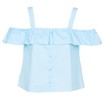 material Women Blouses Moony Mood IFARANDOL Blue