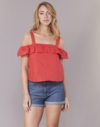 material Women Blouses Moony Mood IFARANDOL Red