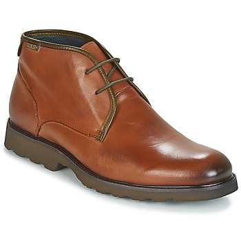 Shoes Men Mid boots Pikolinos GLASGOW M05 Brown