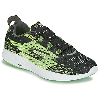 Shoes Men Running shoes Skechers Go Run 5 Black / Green