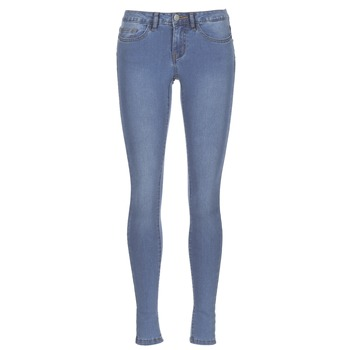 material Women slim jeans Noisy May NMEVE Blue / Clear