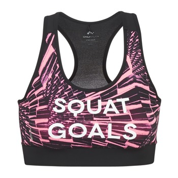 material Women Sport bras Only Play ONPPERSIA Pink / Black