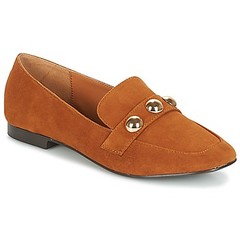 Shoes Women Loafers Bocage ABELONE Cognac