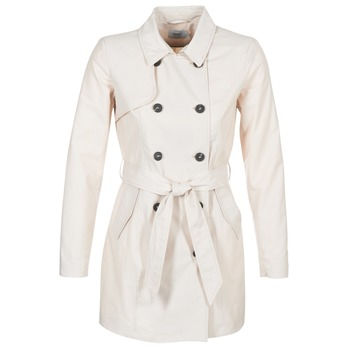material Women Trench coats Only LUCY Beige