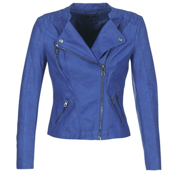 material Women Leather jackets / Imitation leather Only AVA Blue