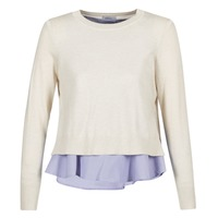material Women jumpers Only LATISHA Beige