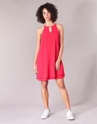 material Women Short Dresses Only MARIANA Pink
