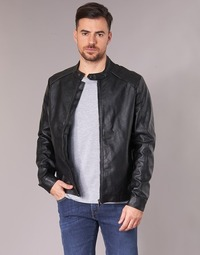 material Men Leather jackets / Imitation leather Yurban IMIMID Black