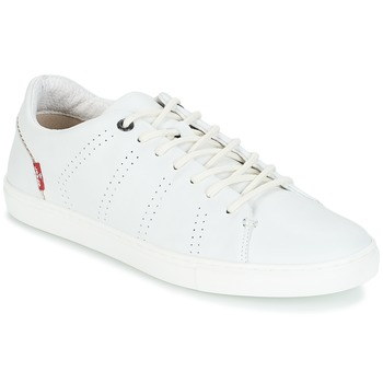 Shoes Men Low top trainers Levi's VERNON White