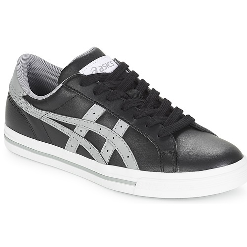 799d453f97f Asics CLASSIC TEMPO Black / Grey - Fast delivery | Spartoo Europe ...