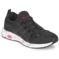 Shoes Women Low top trainers Asics HYPER GEL-SAI W Black / Blue / Pink