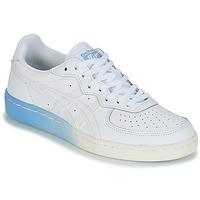 Shoes Women Low top trainers Onitsuka Tiger GSM LEATHER White / Blue