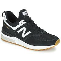 Shoes Men Low top trainers New Balance MS574 Black