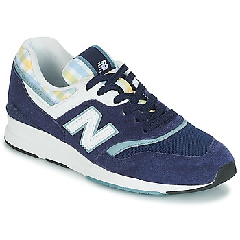 Shoes Women Low top trainers New Balance WL697 Blue